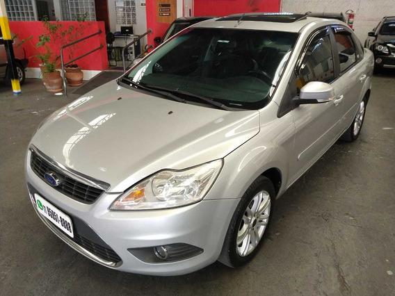 Focus Ghia Sedan 2.0 Automatico Flex 2011 Prata Top Completo