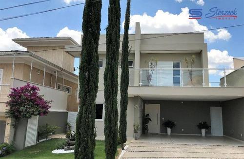 Imagem 1 de 30 de Casa Com 3 Dormitórios À Venda, 250 M² Por R$ 1.380.000,00 - Condomínio Terras De São Francisco - Vinhedo/sp - Ca1235