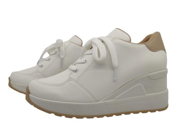 Tênis Sneaker Feminino Sintético Me Gusta 081822