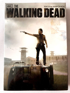 The Walking Dead Tercera Temporada Completa Dvd Amc