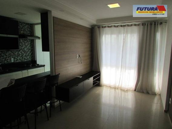Apartamento Novo Com Lazer Completo, Garagem Demarcada, 2 Dormitórios, Suíte, Terraço - Vila Valença - São Vicente/sp - Ap1961