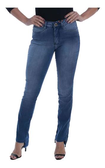 Calça Jeans Osmoze Mid Rise Slim 23134 Un Azul