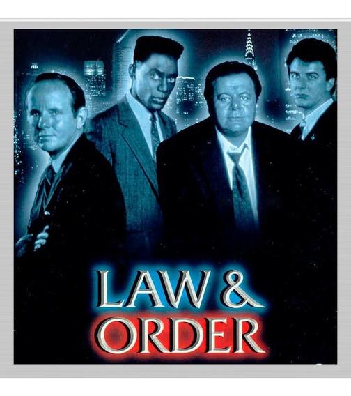 Lei E Ordem Serie Completa Legendada 20 Temporadas -160 Dvds