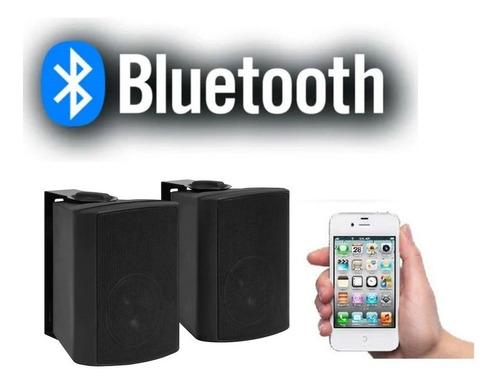Imagen 1 de 4 de Parlantes Activo Sonido Musica Ambiental Pared Bluetooth