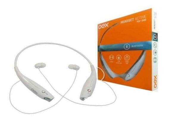 Fone De Ouvido Bluetooth Arco Active Sport Oex Hs300 Branco