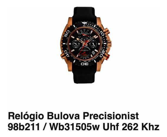 Relógio Bulova Precisionist 98b211 / Wb31505w Uhf 262 Khz