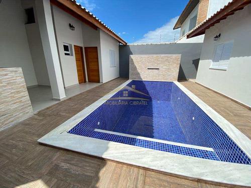 Casa Com 4 Dorms, Jardim Icaraiba, Peruíbe - R$ 680 Mil, Cod: 1391 - V1391