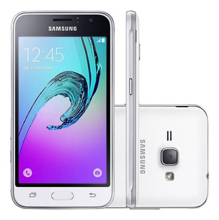 Samsung Galaxy J1 Duos J120h 8gb 3g 5mp Branco Vitrine 1