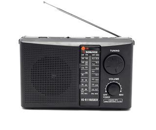Radio Parlante Inalámbrico Am/ Fm/ Sw Sonivox Vs-r116usbcr