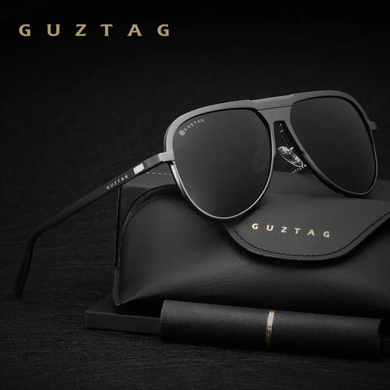 Óculos De Sol Aviador Piloto Polarizado Uv400 Original