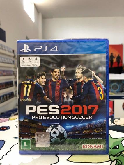 Pro Evolution Soccer Pes 2017 Ps4 Novo Lacrado Promoção