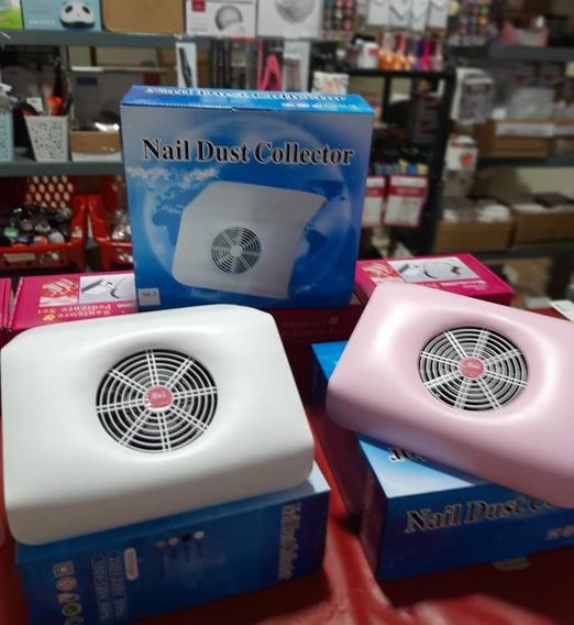 Ventilador Colector Polvo De Limado Manicure Semipermanente