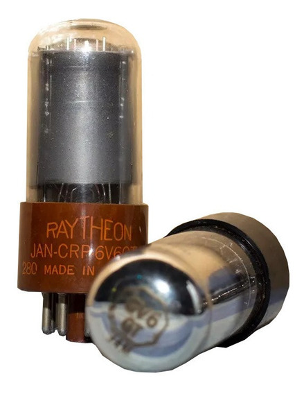 Valvulas Raytheon 6v6gt Nuevas