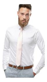 Lisas Entalladas Hombre Slim Vestir Fit Camisa De CxsrhdtQ