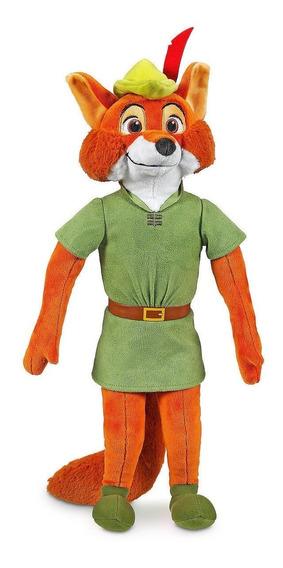 Pelucia Robin Hood 38 Cm Novo Disney Store Original
