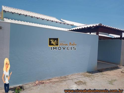 Imagem 1 de 8 de Casa Em Unamar Cabo Frio Casa Super Linda Em Unamar Cabo Frio Região Dos Lagos - Vcac 341 - 69015597