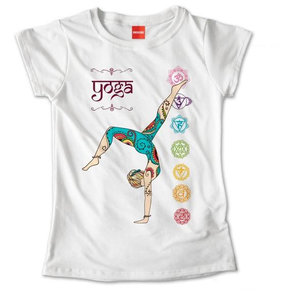 Blusa Dama Yoga Namaste Flor De Loto Colores Playera #747
