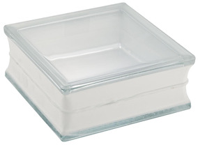 Tijolo De Vidro Clear Transparente 19x19x8cm - Liege