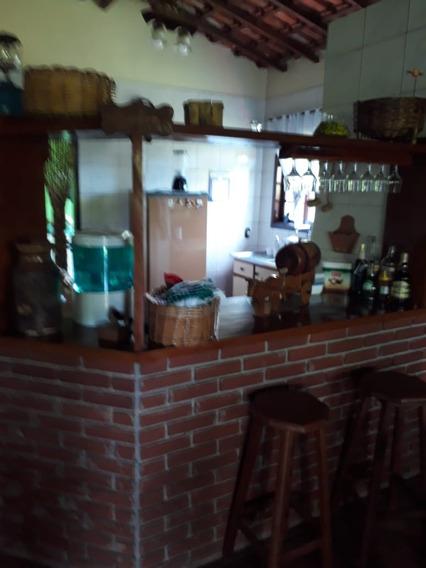 (k.a) Chácara Pronta Com Sala Cozinha Americana