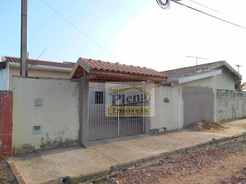 Casa Com 2 Dormitórios À Venda, 90 M² Por R$ 245.000,00 - Jardim São Domingos - Sumaré/sp - Ca2097