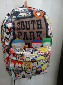 South Park Mochila Licenciada. Qualidade Muito Boa Tecido.