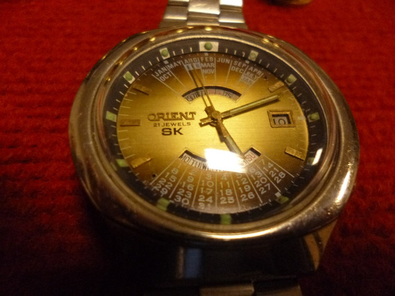 Relógio Orient Calendário Perpétuo, Automático, Japan Made