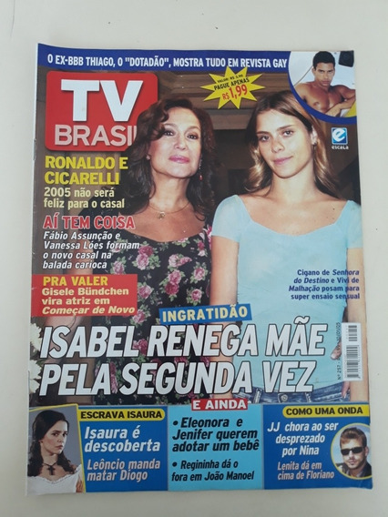 Revista Tv Brasil 257 Carolina Dieckmann Susana Vieira