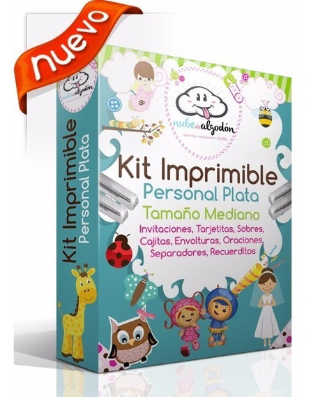 Kit Imprimible, Invitaciones Recuerdos Tarjetas Y Más
