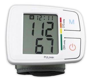 Tensiómetro Digital Lcd Medidor De Presión Arterial Y Pulso