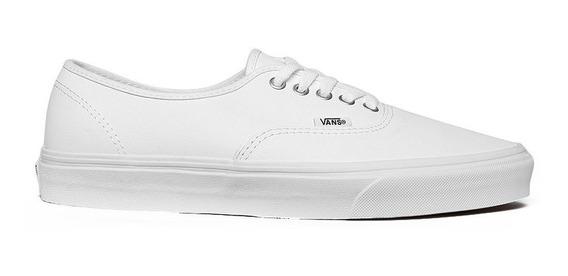 Tenis Vans Blanco De Piel Original