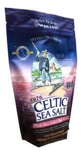 Sal Rosada Organica 100% Celtic Sea Salt 454gr