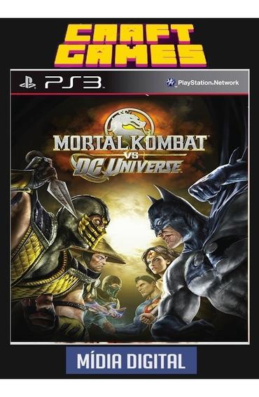 Mortal Kombat Vs Dc Universe Ps3 Psn Envio Imediato