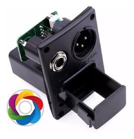 Case Box Bateria 9v Xlr/ P10 - Violao - Viola - Cavaco...