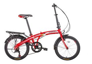 Bike Dobrável Aro 20 Shimano 7v Direto Represante