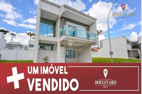 Imagem 1 de 30 de Casa Com 3 Dormitórios À Venda, 222 M² Por R$ 970.000,00 - Uberaba - Curitiba/pr - Ca0088