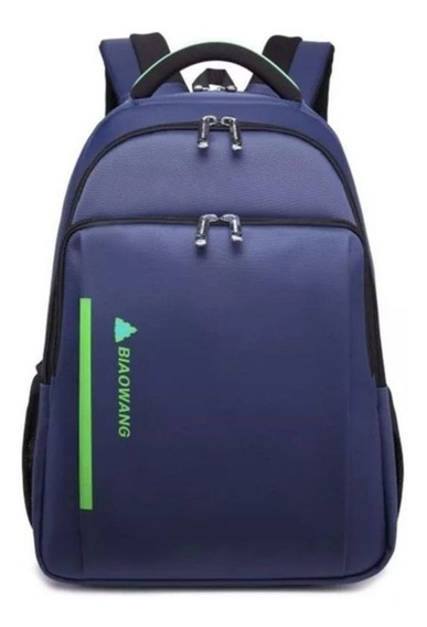 Mochila Bolsa Masculina Impermeavel Reforcada Notebook 60%of