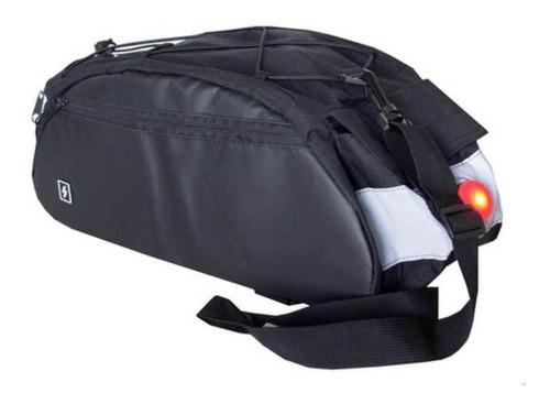 Imagen 1 de 4 de Bolso P/ Porta Equipajes Roswheel Trunk Bag Bicicleta C/ Luz