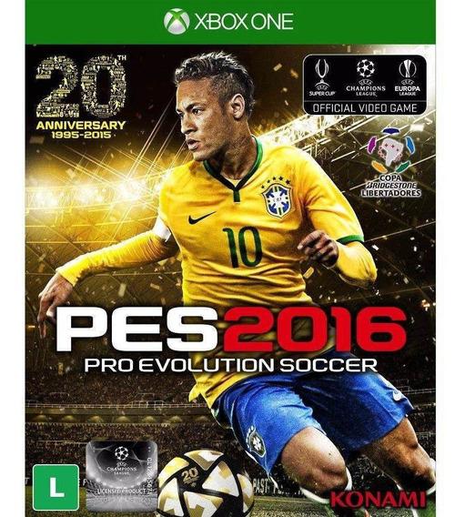 Pes Pro Evolution Soccer 2016 Pt-br Xbox One - Original