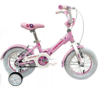 Bicicleta Nena Aluminio Fire Bird Fantasy R12