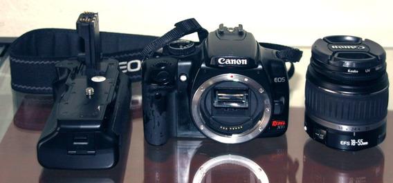 Kit Câmera Canon Xti Completo