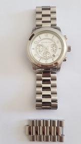 Relógio Michael Kors Unissex Prata Original