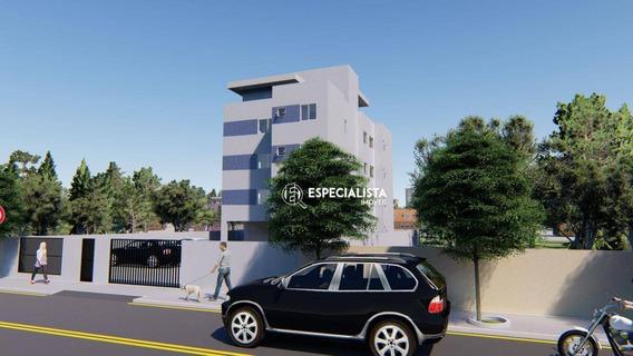 Cobertura Com 2 Dormitórios À Venda, 52 M² Por R$ 250.000 - Santa Mônica - Belo Horizonte/mg - Co0011