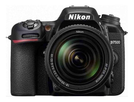 Nikon D7500 Kit 18-55mm Vr + Bolsa Nikon Original