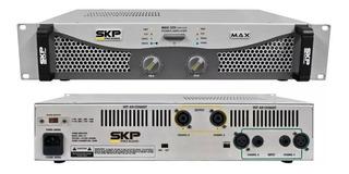Amplificador De Potencia Skp Max 320 150w+150w Rms 4 Ohms