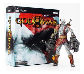 Figura Kratos God Of War 3 Envio Gratis 18cm Ultimate Caja