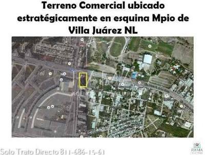 Terreno En Renta Villa Juarez N.l. $60,000