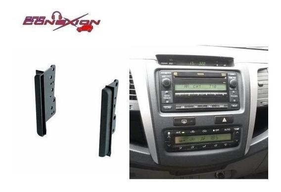 Marco Adaptador Toyota Hilux Sw4 Etios Corolla Land Cruiser Doble Din