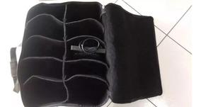Bag Case Capa Para 10 Refletor Led Par 64 Slim 4 Unidades