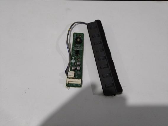Teclado E Sensor Do Remoto Tv Lg 42lc2rr