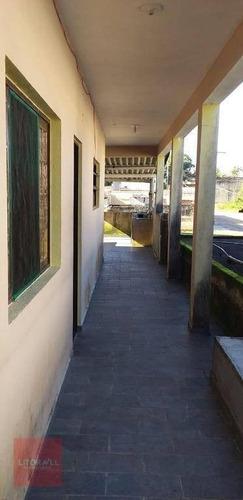 Casa Com 3 Dormitórios À Venda, 196 M² Por R$ 220.000,00 - Cidade Jardim Coronel - Itanhaém/sp - Ca1514